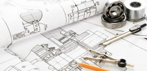 8786546-drawing-detail-and-drawing-tools-stock-photo-engineering-drawing-technical